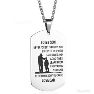Other - 🆕 TO MY SON / LOVE DAD NECKLACE